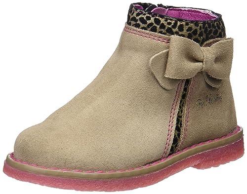 Pablosky 019146, Botines para Niñas, (Beige), 22 EU: Amazon.es: Zapatos y complementos