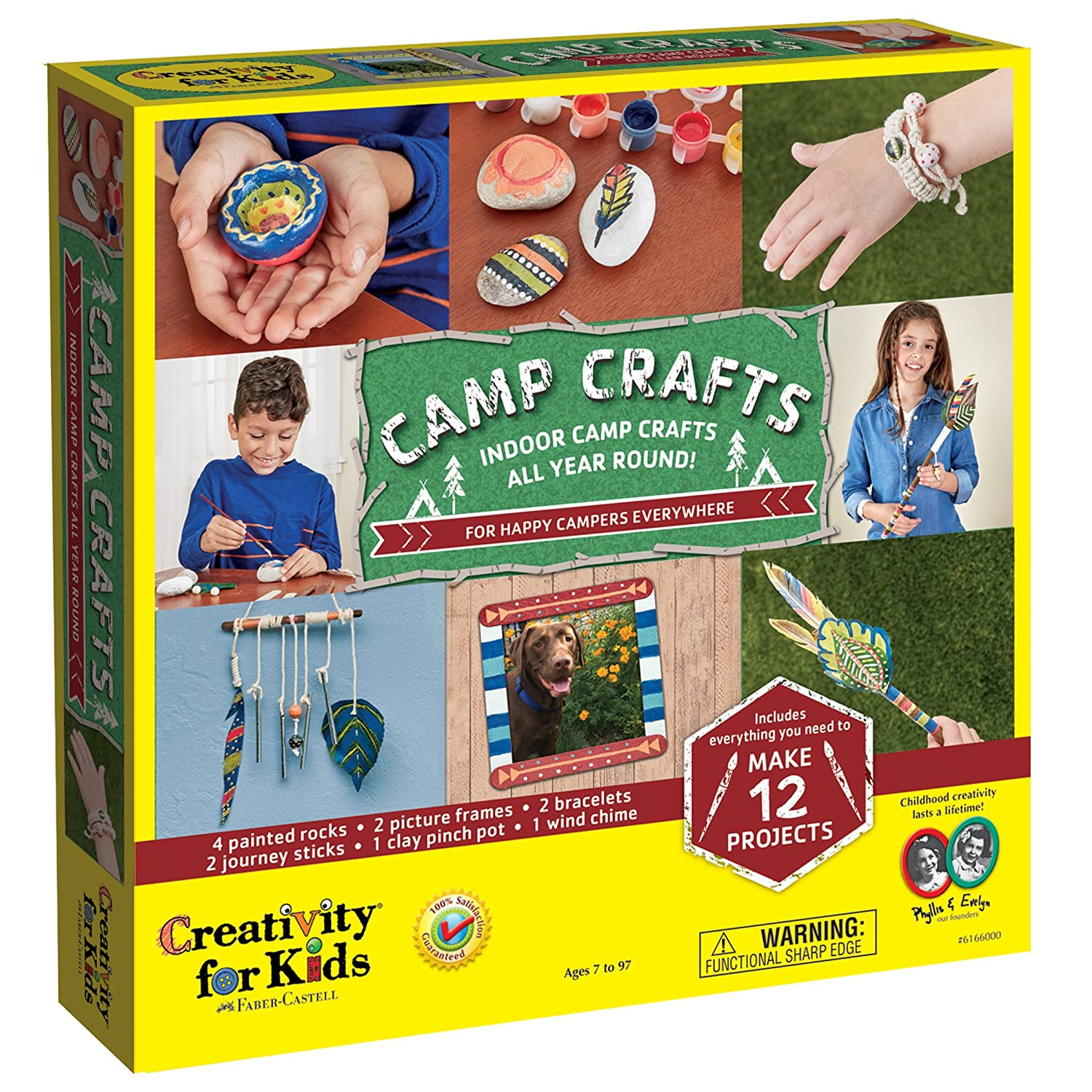 Amazon.com: Creativity for Kids Camp Crafts - Create 12 Classic Arts ...