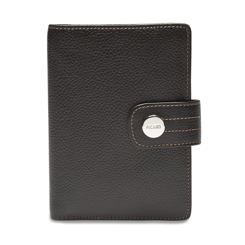 Picard Melbourne Geldbörse 8706 Damen Portemonnaie Leder 9x12.5x2 cm  (BxHxT), Farbe:Cafe: Amazon.de: Koffer, Rucksäcke & Taschen