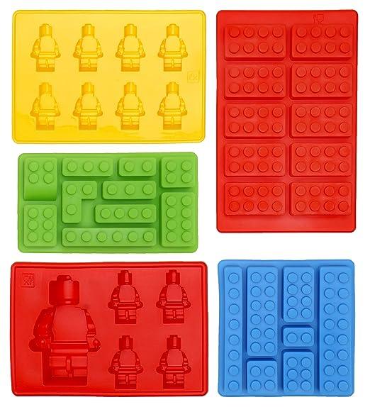 39 opinioni per Stampi a Forma Di Lego in Silicone Set