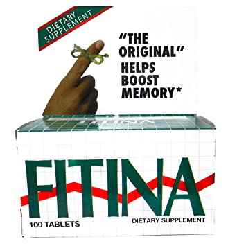 Fitina Memory Support Supplement 100 Tablets