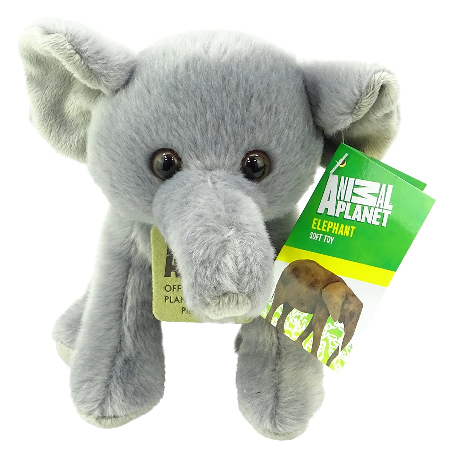 Animal Planet Jungle Cubs - Juguete suave de elefante de peluche de 15 cm: Amazon.es: Juguetes y juegos