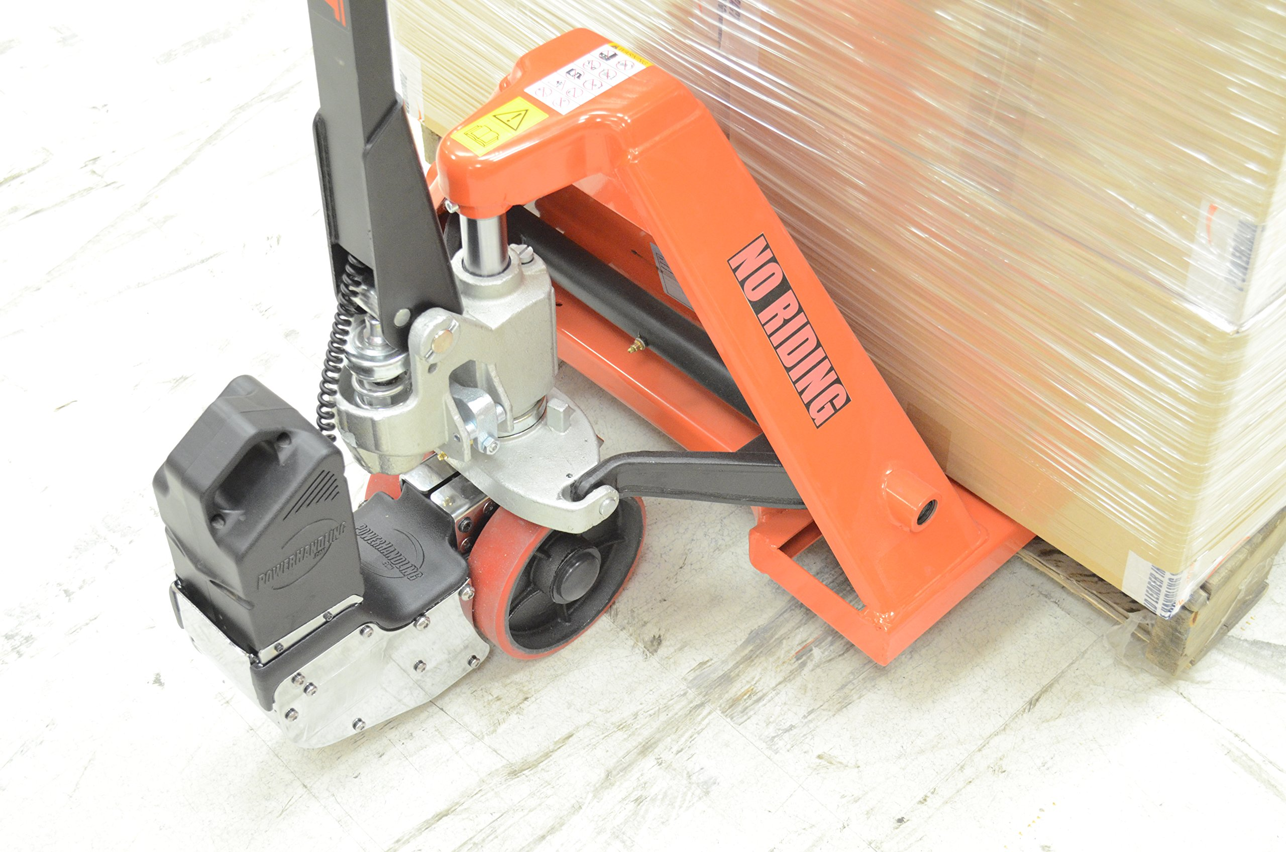 PowerPallet 2000 Mounted Kit: 3,500 pound rated 27'' x 48'' electric pallet jack by PowerPallet (Image #4)