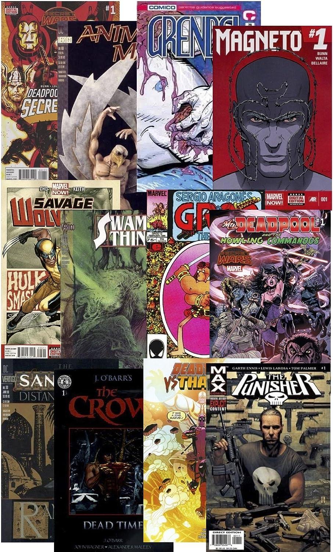 10 LBS DC Vertigo Mature Comic Book Lot Marvel Image Dark Horse And More!!!