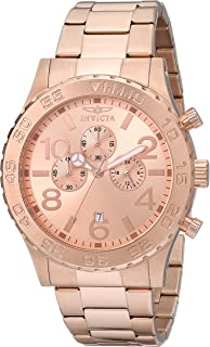 cf4b699f0f65 Invicta Men s 1271 Specialty Chronograph Rose Dial 18k Rose Gold Ion-Plated  Watch