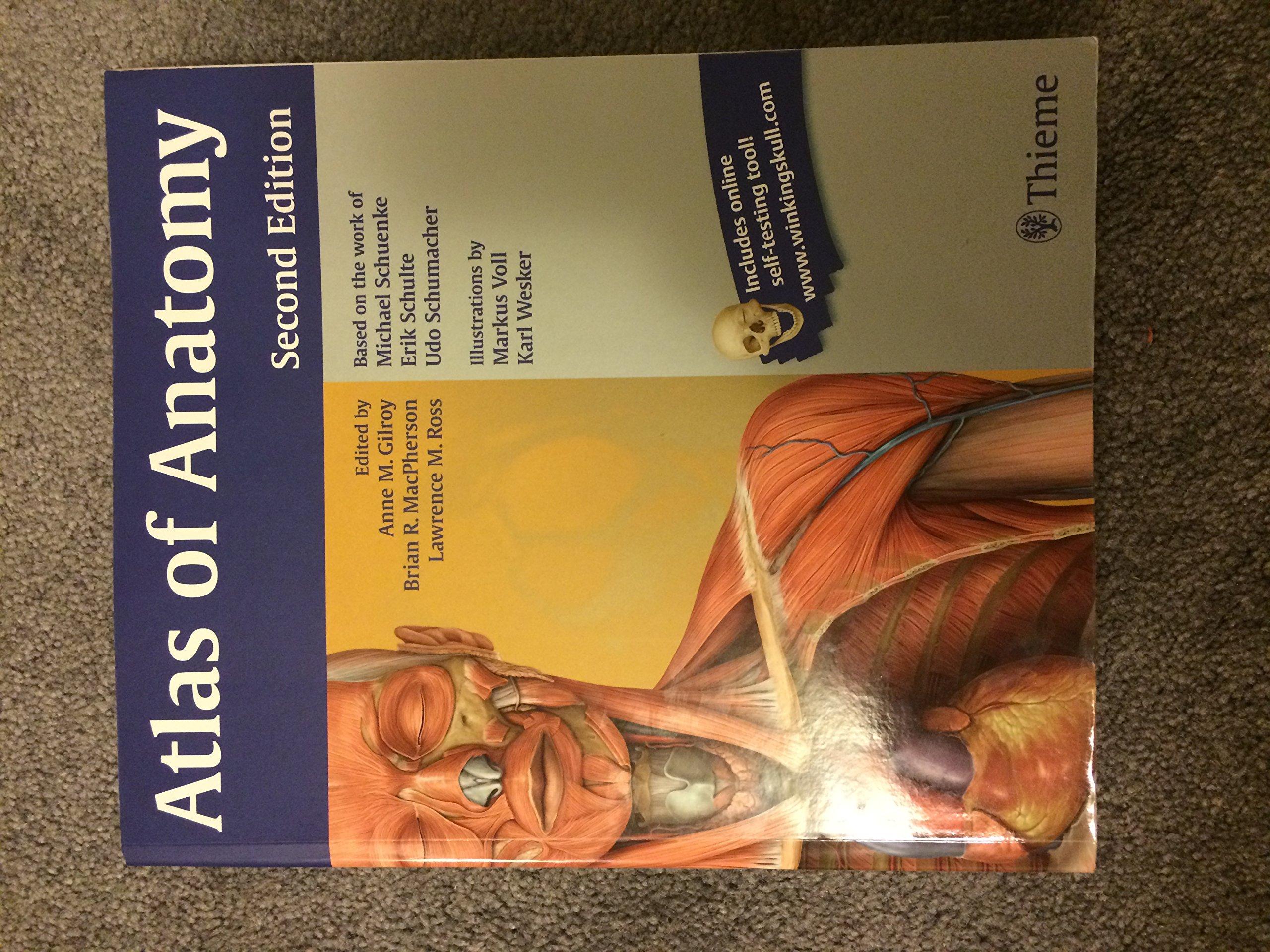 Atlas of Anatomy by Gilroy, Anne M, MacPherson, Brian R, Ross ...