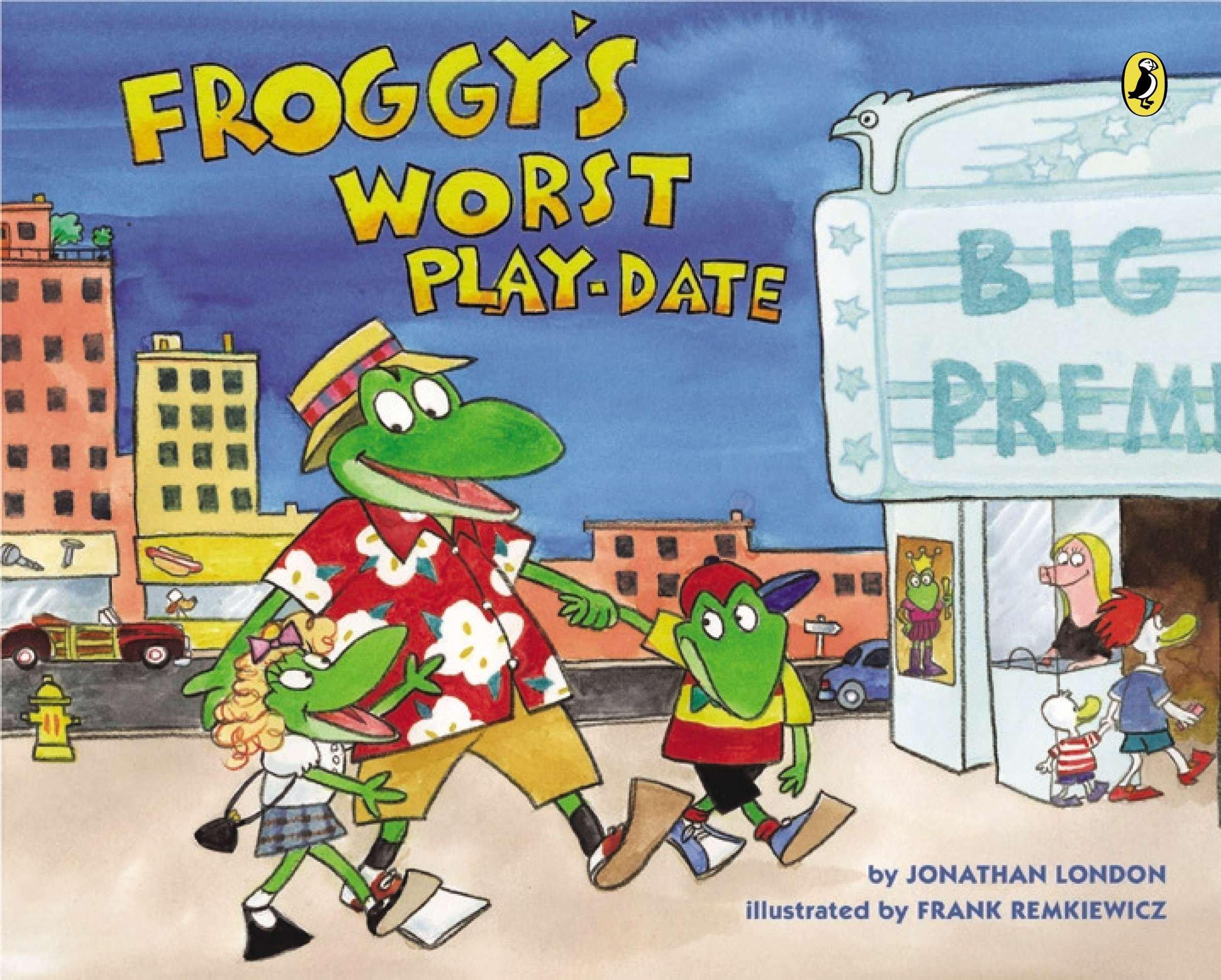 Froggy's Worst Playdate pdf