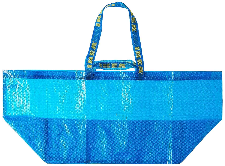 Smart ángel IKEA FRAKTA - Classic azul bolsa de la compra (X2): Amazon.es: Hogar