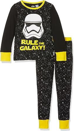 Star Wars Storm Trooper Character Conjuntos de Pijama, Negro ...