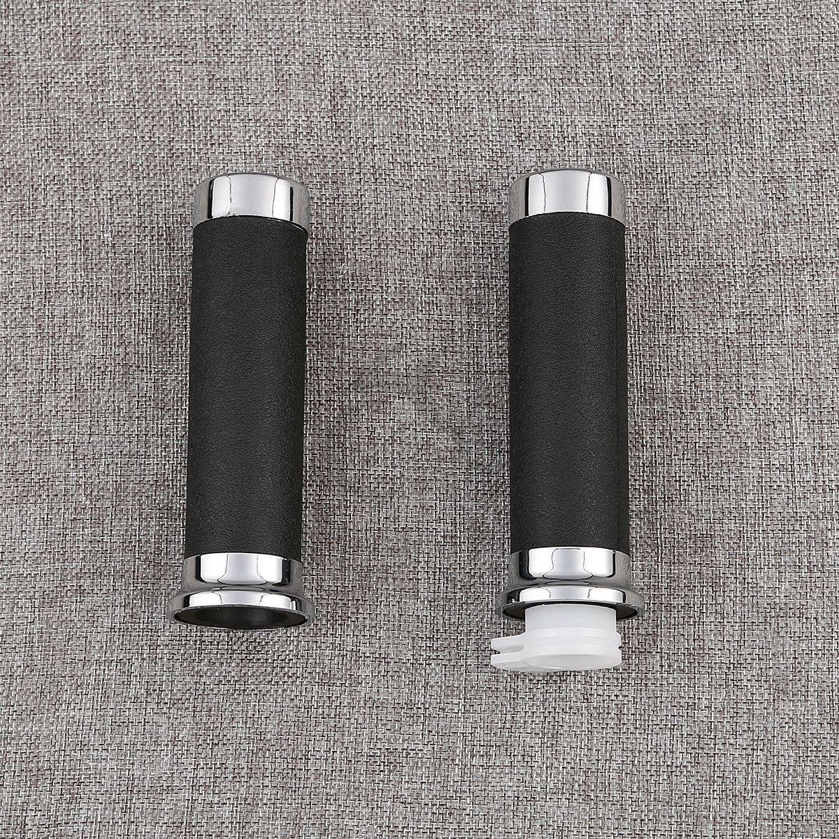 Soft Rubber /& Plastic Hand Grips Handle Bar for Harley Honda Yamaha FidgetGear 1 25mm