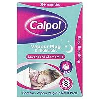 Calpol Vapour Plug and Nightlight with 3 Refills