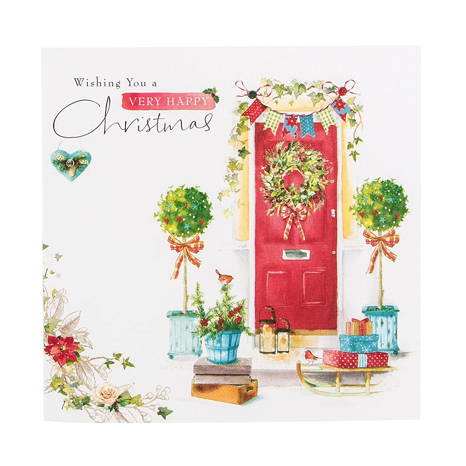 Hallmark Christmas Card 'Wonderful Times' - Small Square 11473479
