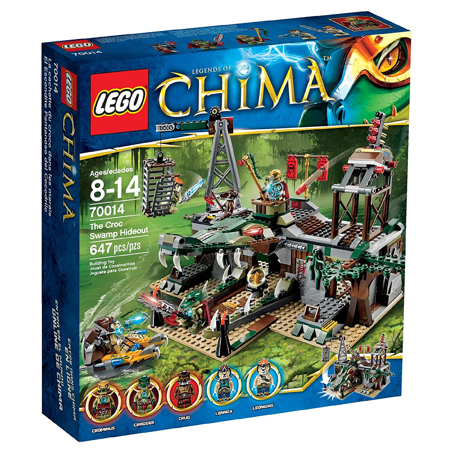 Top 9 Best LEGO Chima Sets Reviews in 2020 1