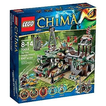 Amazoncom LEGO Legends of Chima Set 70014 The Croc Swamp