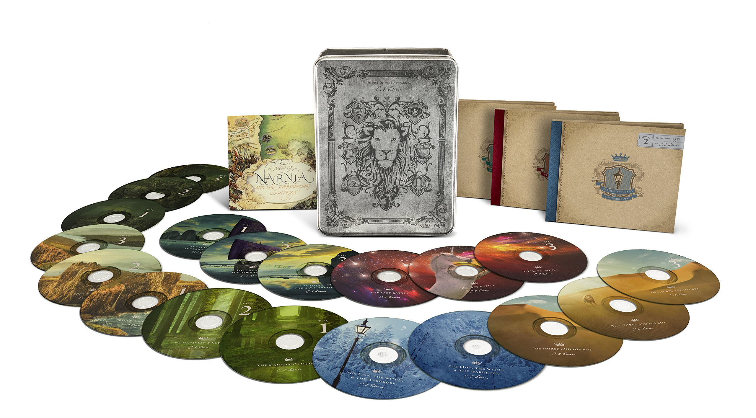 The Chronicles of Narnia Collector's Edition (Radio Theatre) by Tyndale House Publishers
