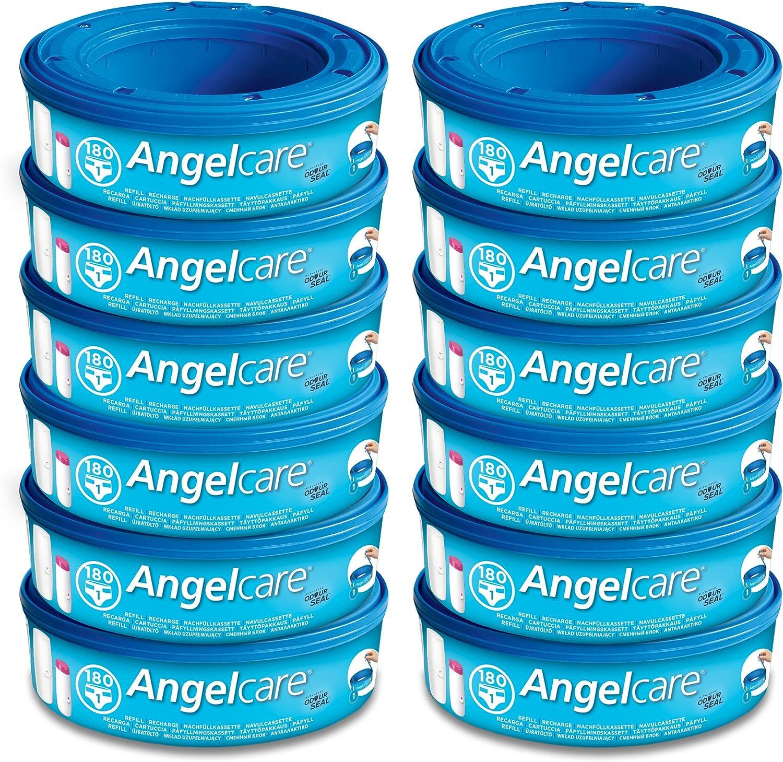 Cassettes De Recharge Angelcare 6 Par Paquet