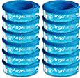 (12-Pack) - Angelcare Refill Cassettes - Pack of 12