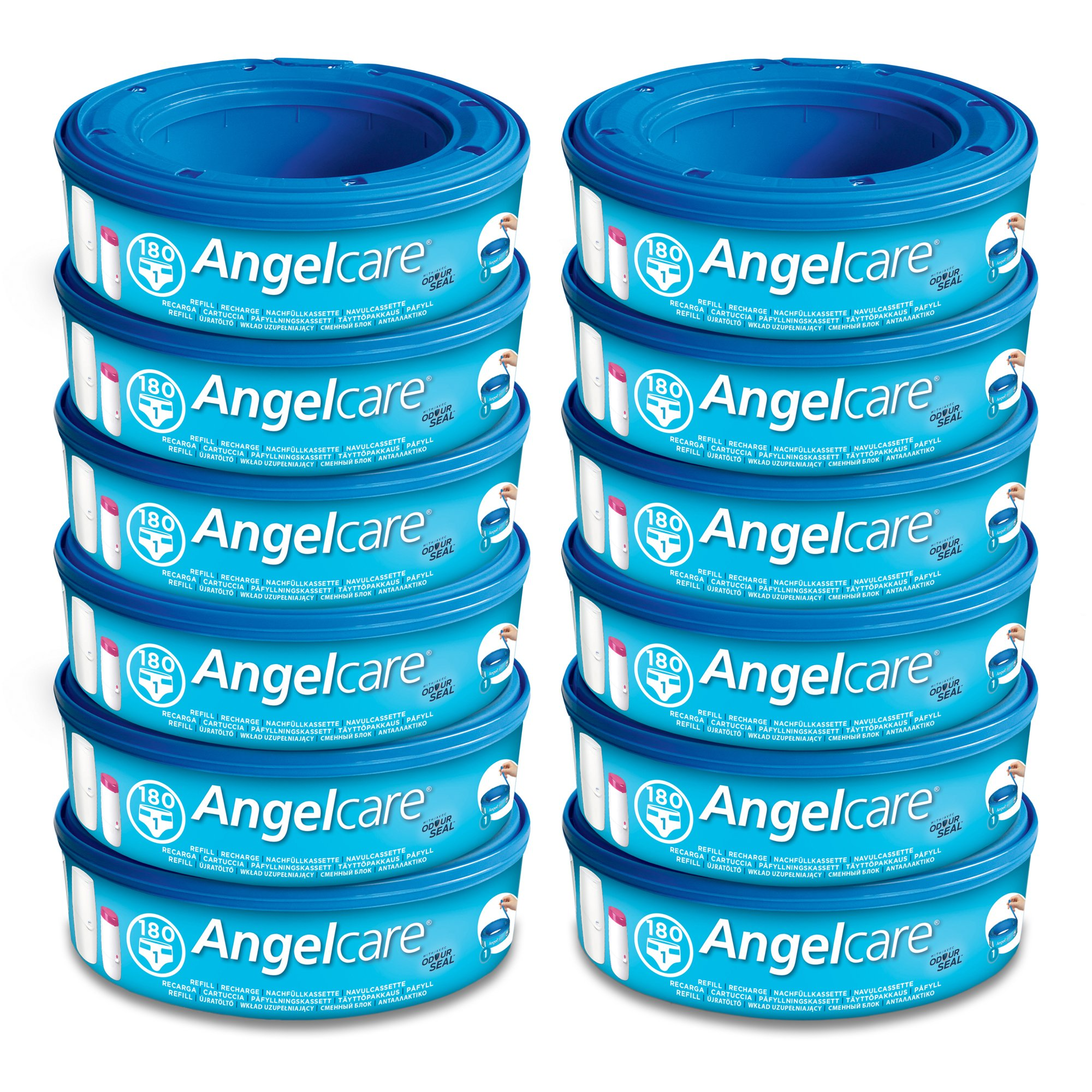 Angelcare Refill Cassettes - Pack of 12 by Angelcare (Image #1)