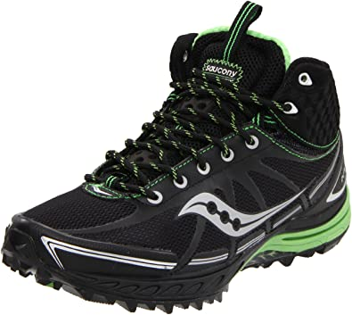 Saucony ProGrid Outlaw Women?s Running Shoes (Green/Black) - EU 41