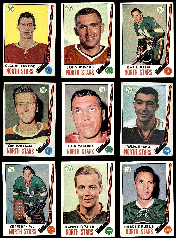 1969-70 Topps Minnesota North Stars Near Team Set Minnesota North Stars (Baseball Set) Dean's Cards 3.5 - VG+ North Stars 913SE1QaLiLSL1500_