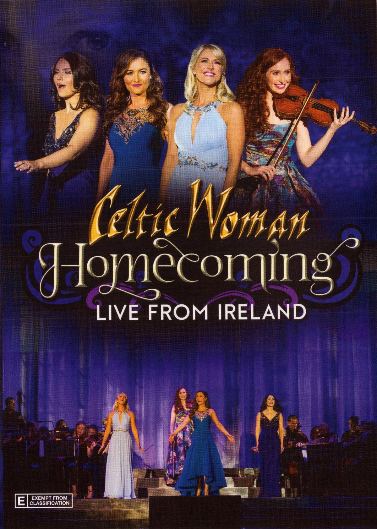 DVD : Celtic Woman - Homecoming: Live From Ireland (Digipack Packaging)