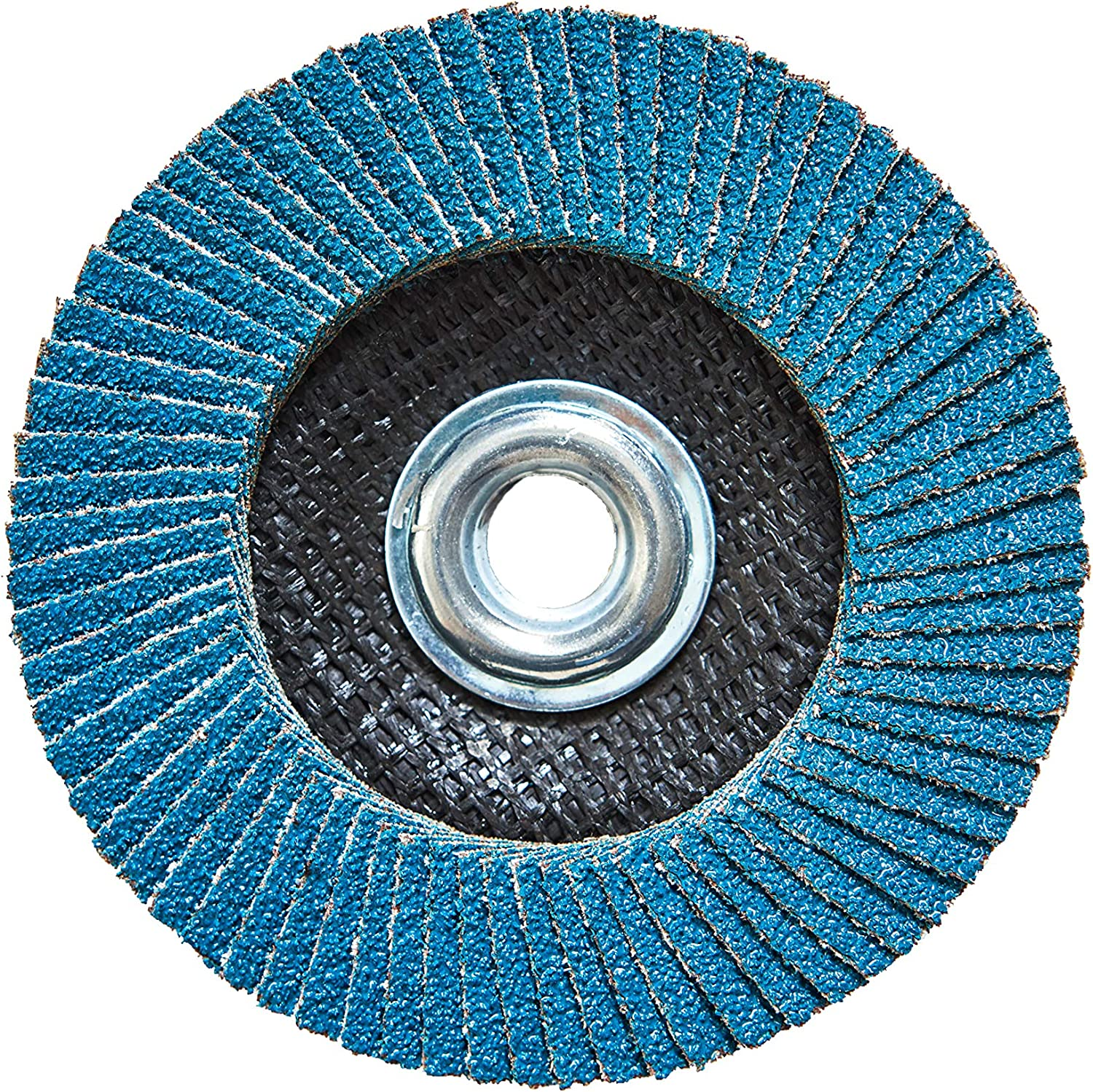 5 Pack of 40 Grit High Density Premium Zirconia with 5//8-11 Arbor 4 1//2 Flap Disc Thread Directly to Grinder