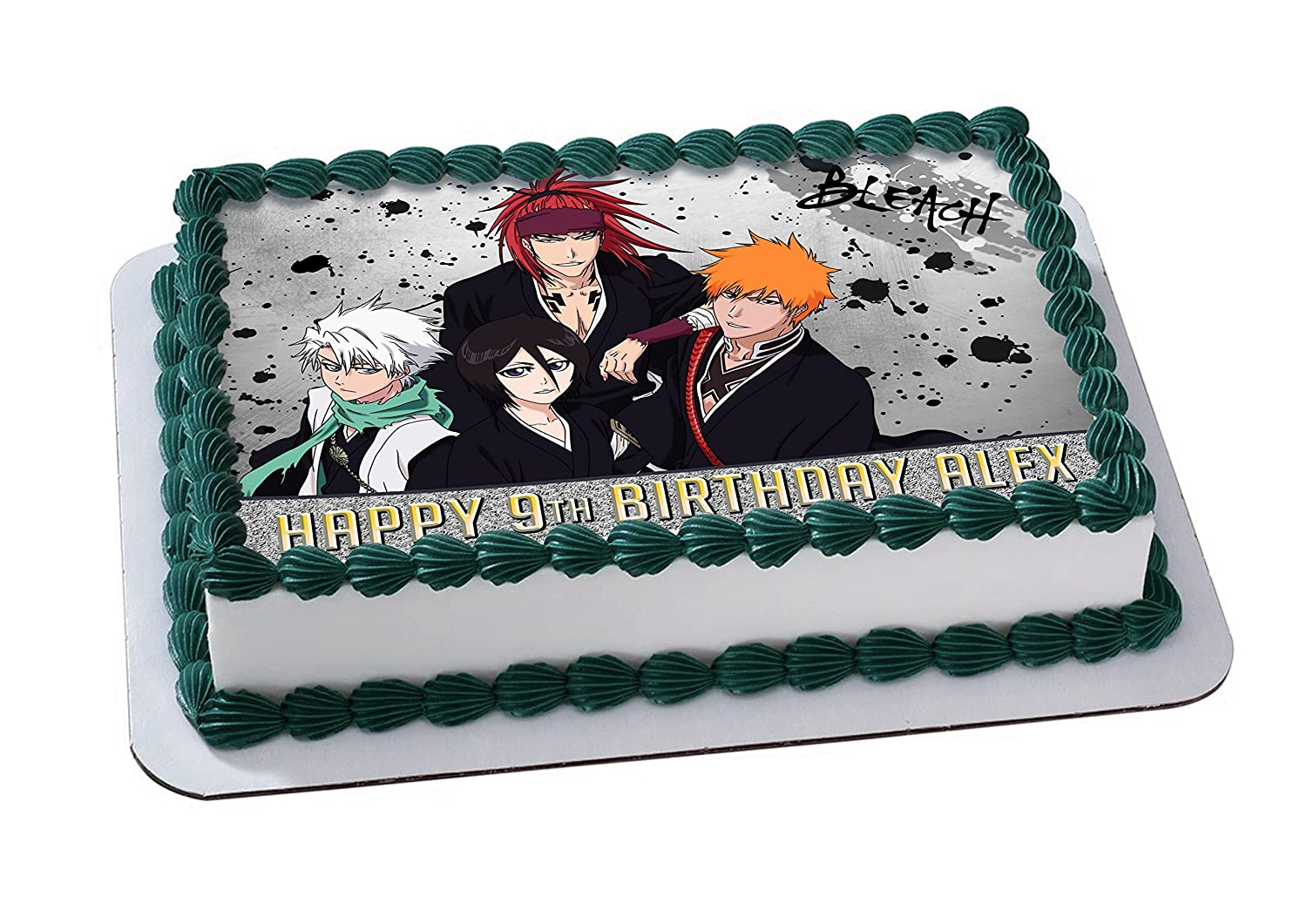 Bleach Anime Edible Image Cake Topper Personalized Birthday 14
