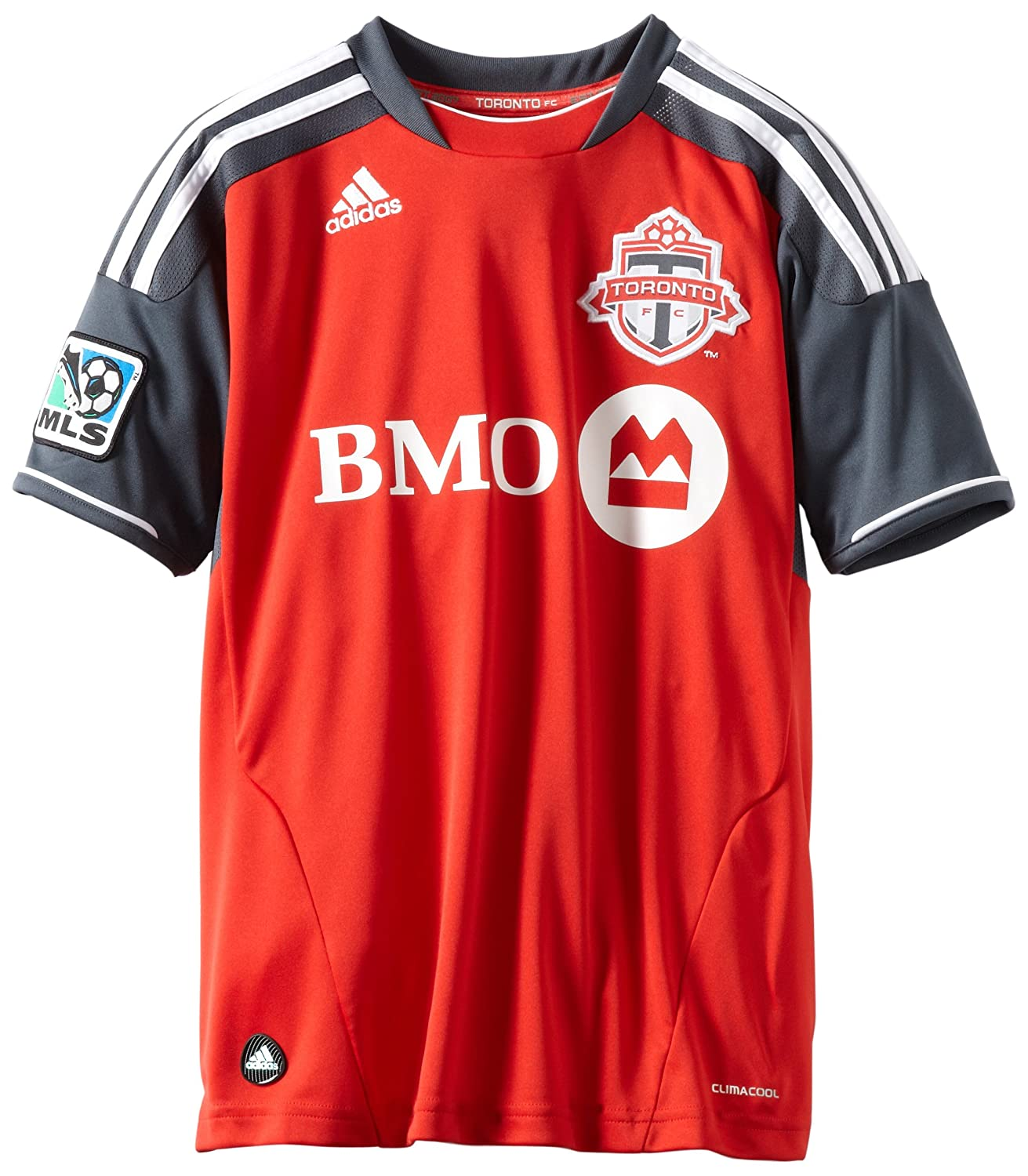 huge discount 5282f 058ce adidas Toronto FC Youth Red Soccer Home Replica Jersey