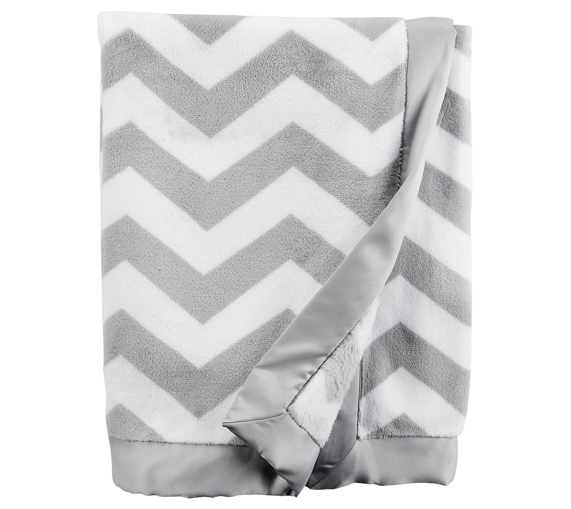 Carter's Baby Chevron Plush Blanket