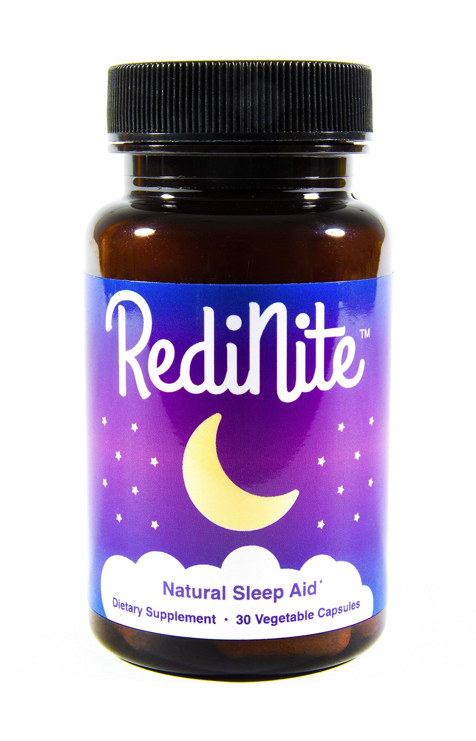 RediNite - Clinically-Proven Natural Sleep Aid Supplement - Non-GMO, Vegan, Gluten-Free by RediNite