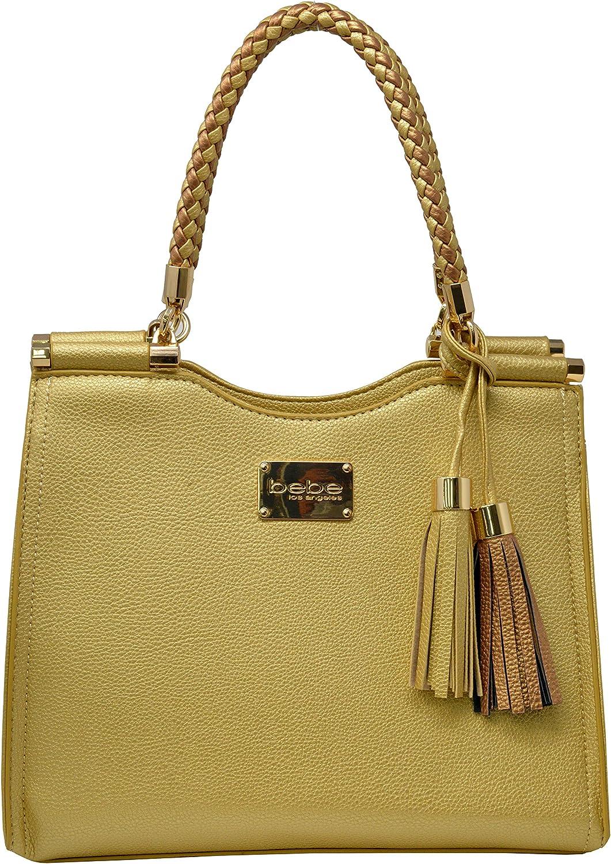 Amazon.com: Bebe Womens Natalie Shopper Handbag Tote ...
