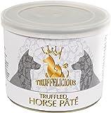 Truffelicious getrüffelte Pferde Pastete/Premium Hundefutter nass mit Trüffel/Anti-Allergie Effekt  – Made in Germany/4er Pack (4 x 190 g)