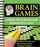 Brain Games Easy Crossword Puzzles