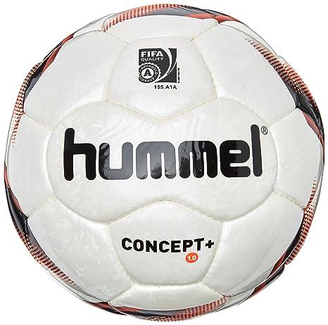 hummel Fußball 1.0 Concept Plus - Balón de fútbol, Color Blanco ...