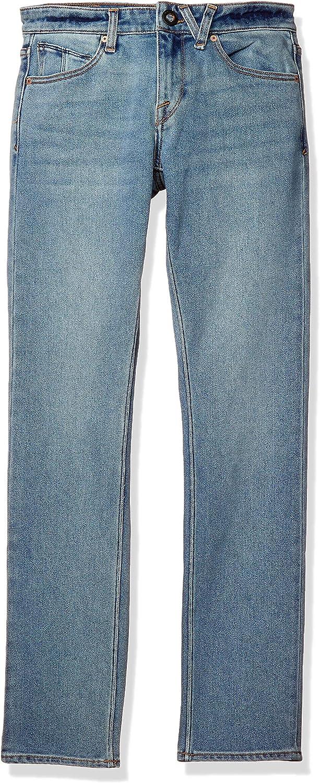Volcom Mens Vorta Slim Fit Stretch Denim Jean