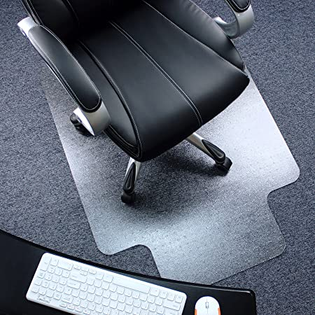 Amazon Com Marvelux 36 X 48 Heavy Duty Polycarbonate Office Chair Mat With Lip For Carpets Transparent Carpet Protector For Low Standard And Medium Pile Carpeted Floors Shipped Flat Multiple
