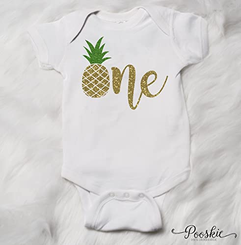 d369c5a47afd Amazon.com  Pineapple First Birthday Outfit