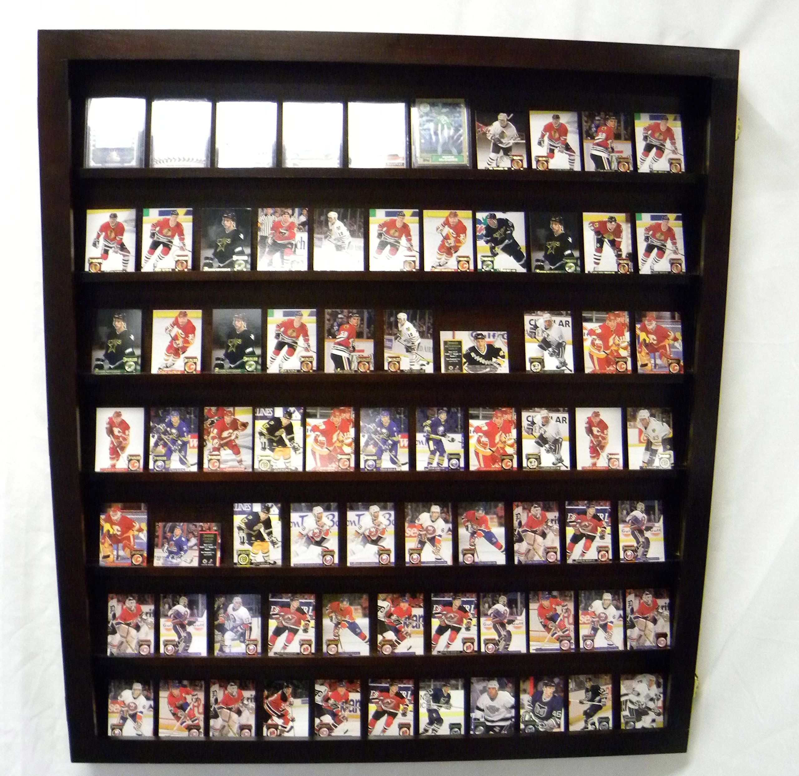 Card Deck Display Case for Decks of Cards/Playing Card Deck Display Case (Cherry) by Pennzoni Display (Image #6)