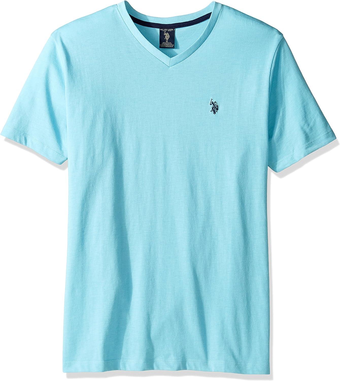 Polo Assn Short Sleeve Embellished V-Neck T-Shirt U.S