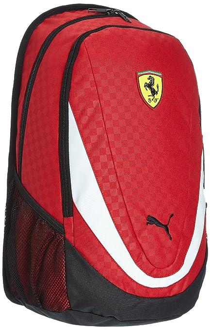 Puma Ferrari Replica Rosso Corsa Casual Backpack (7223101)  Amazon ... e656269a77541