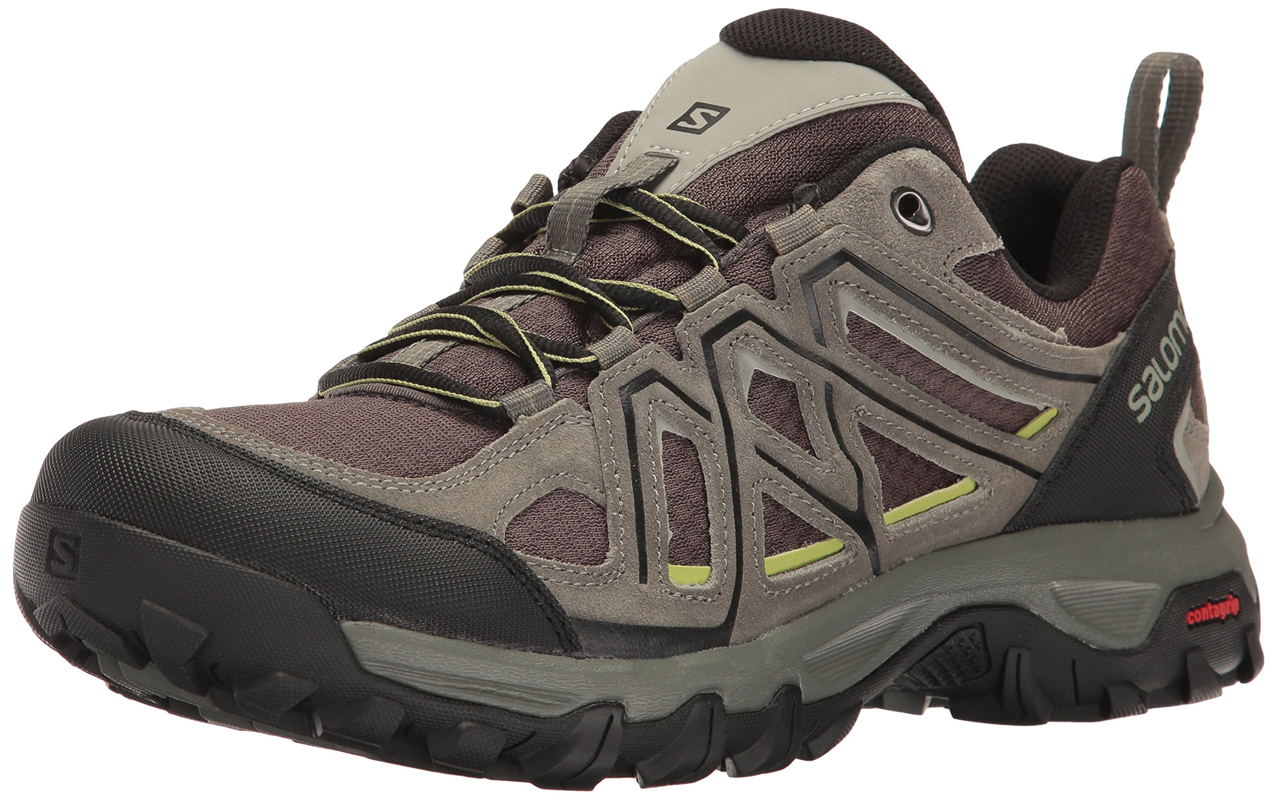 8cc31dc00 Salomon Men's Evasion 2 AERO Hiking Shoe, Castor Gray, 8.5 M US