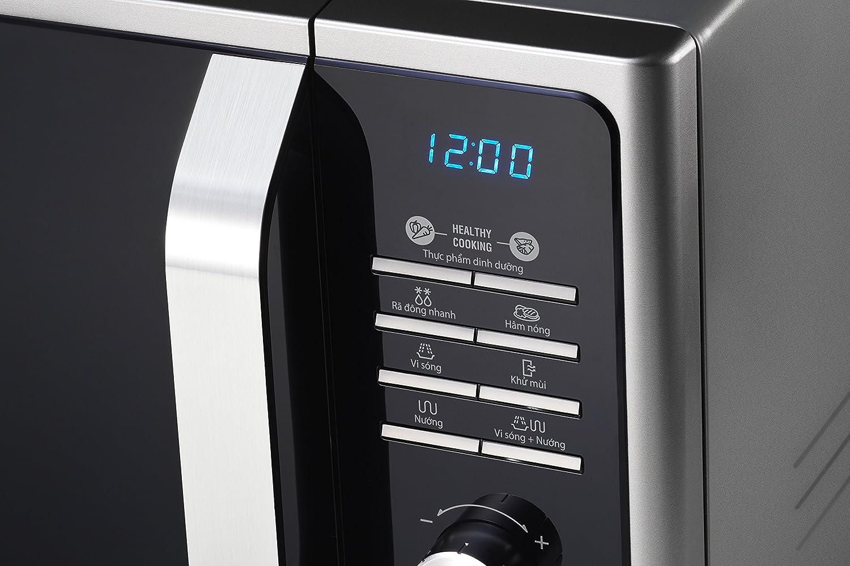 Samsung MG23F301TAW/EG Mikrowelle 23 L Garraum 20 Vitalprogramme ...