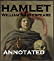 Hamlet ( Annotated) (English Edition)