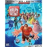 RALPH BREAKS THE INTERNET [Blu Ray + DVD + Digital Copy] [Blu-ray]