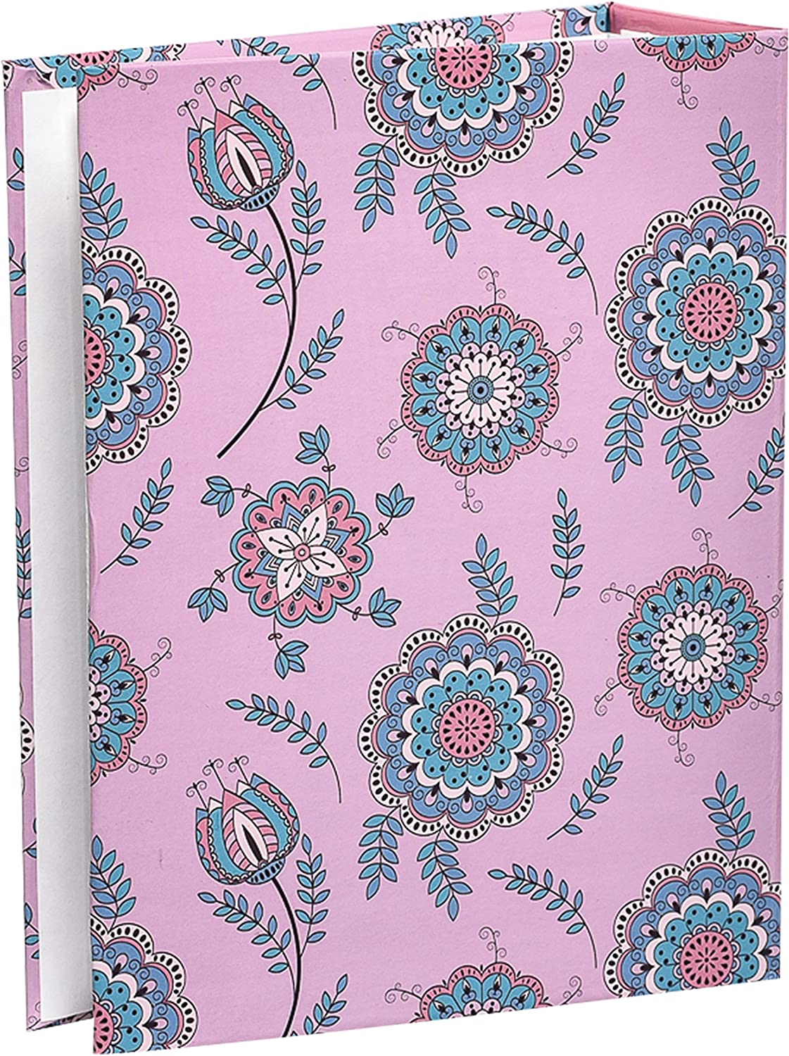 Black Arpan 6x4 Small Slip In Case Photo Album for 100 Photos Various Design /& Colurs