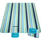 Picnic Blanket,Waterproof Portable oversized 80 x 60 Inches Beach Mat