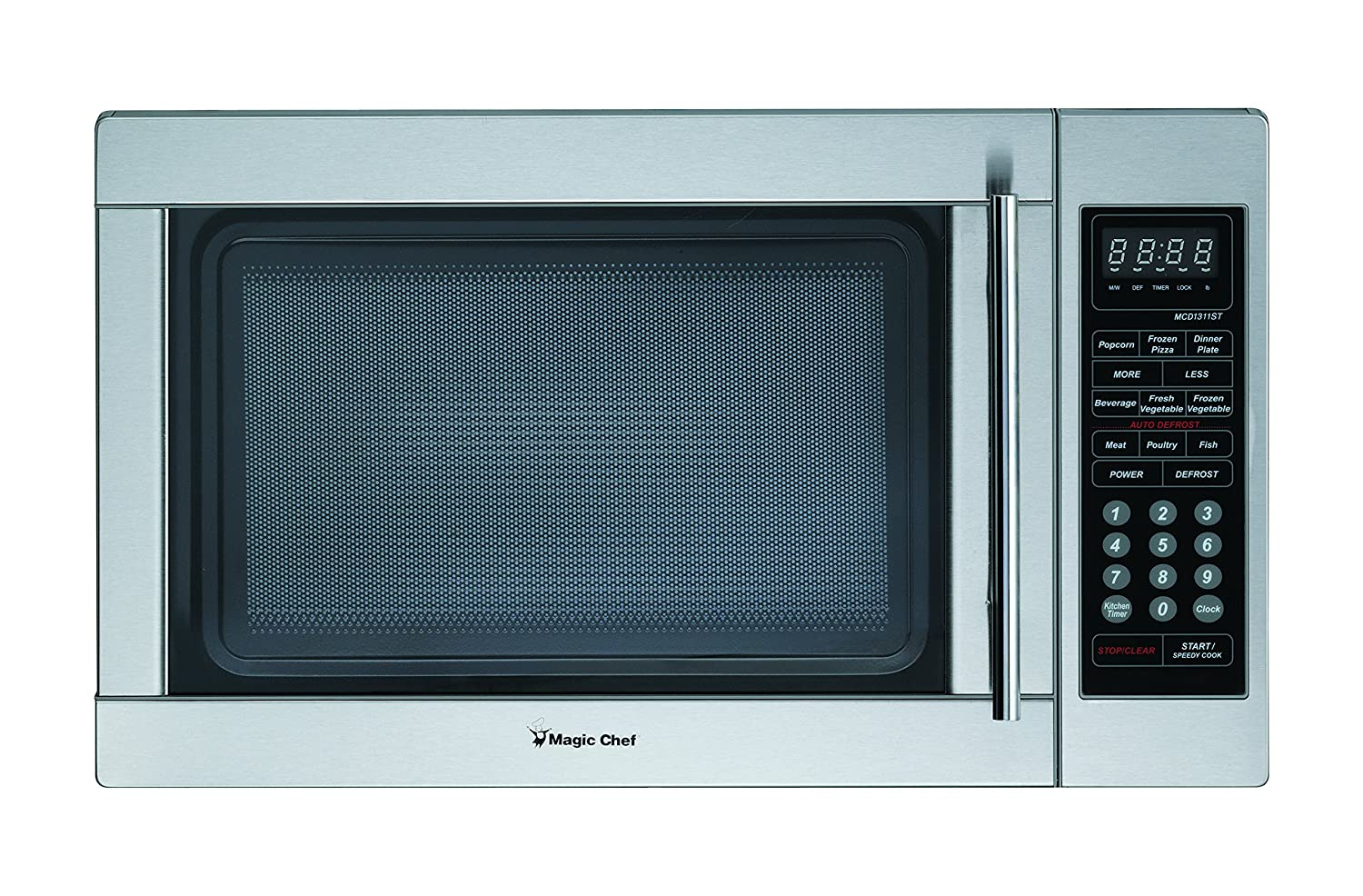 Magic Chef MCPMCD1310ST MCD1310ST 1.3 cu.ft. Microwave Stainless Steel