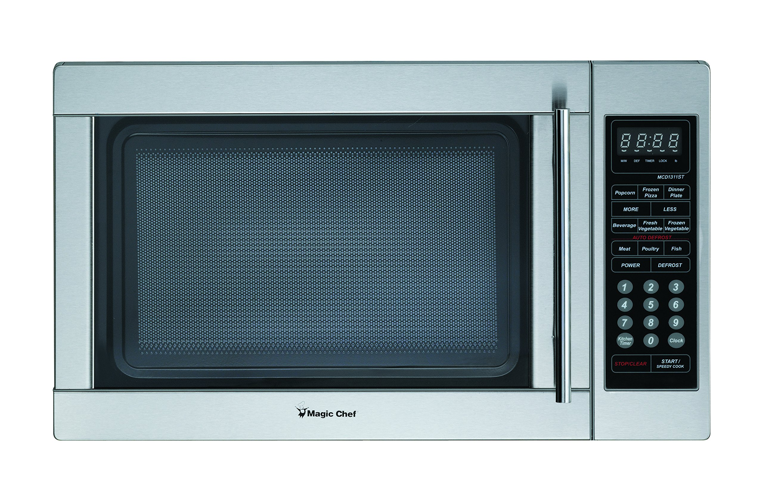 Magic Chef MCD1310ST 1.3 cu.ft. Microwave, Stainless Steel by Magic Chef
