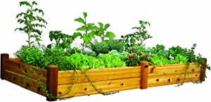 Gronomics RGB 48-95S 48-Inch by 95-Inch by 13-Inch Raised Garden Bed, Finished