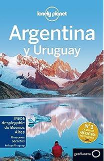 Lonely Planet Argentina Y Uruguay Nueva Edición Travel Guide - Argentina map lonely planet